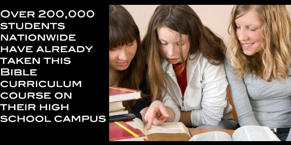 NCBCPS asks... when you get through high school, will you have taken a Bible course on campus?